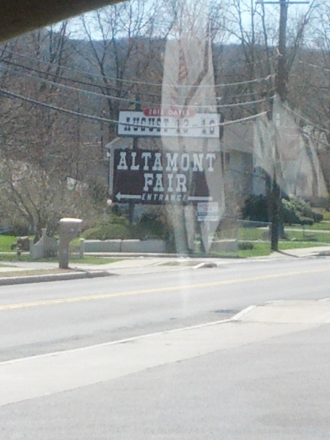The opening shots of the film were shot at the Altamont fairgrounds. I grew up going to this fair with my grandparents and it is the filming location closest to where I currently live.