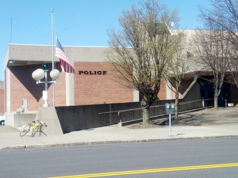 The Schenectady Police Department, where Anderson Cooper's character worked