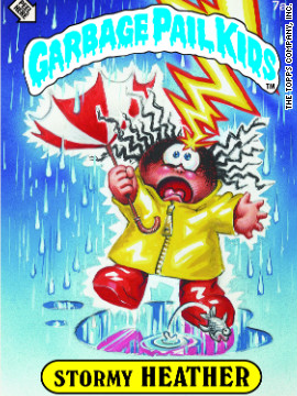 Naturally, this was my favorite Garbage Pail Kid.