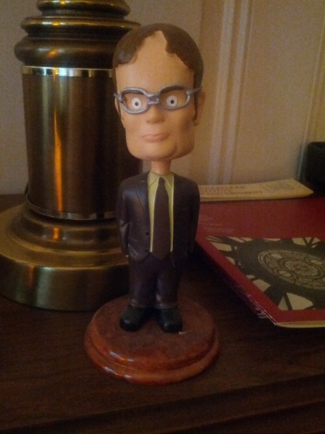 The bobblehead that started a collection.