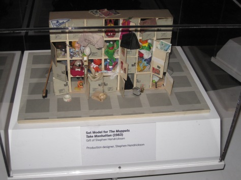 Set design model for The Muppet Movie