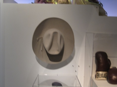 J.R. Ewing's hat from Dallas. R.I.P Larry Hagman.