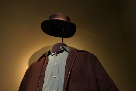 The clothes make the man - Walt's Heisenberg outfit http://www.businessinsider.com/breaking-bad-fans-will-love-this-nyc-exhibit-photos-2013-7?op=1
