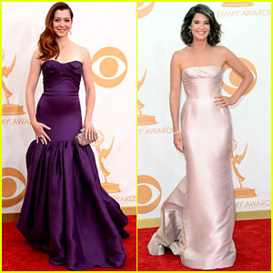 alyson-hanigan-cobie-smulders-emmys-2013-red-carpet
