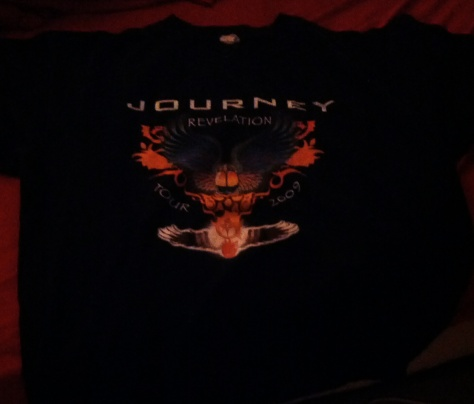 Yes - I own a Journey t-shirt. Yes - I wear this in public