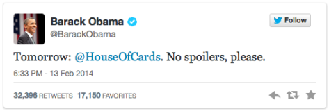 from @BarackObama
