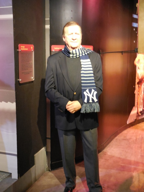 I am possibly the only person who was excited to see George Steinbrenner