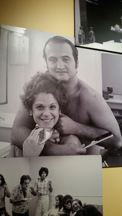 I just loved this old photo of Jim Belushi and Gilda Radner