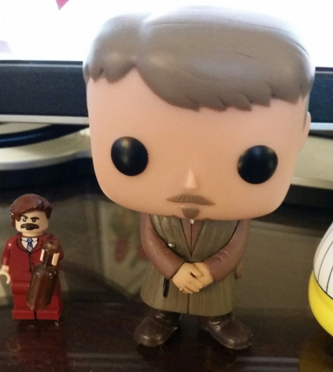 Littlefinger hanging out with Ron Burgundy. They'd make a formidable team.