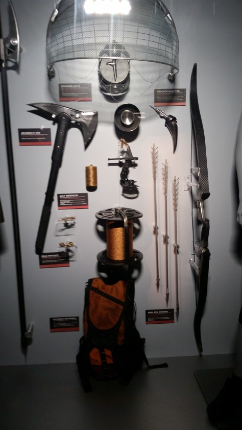 Weapons from the Hunger Games